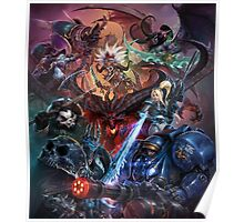 Heroes of the storm Art Poster
