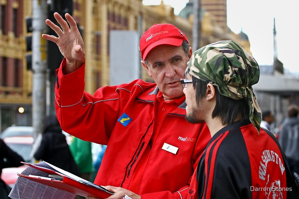 David the volunteer by Darren Stones