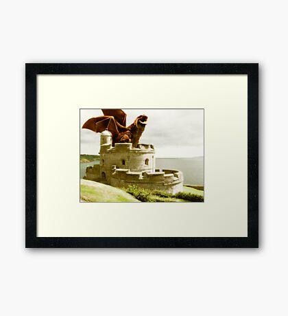 **Smaug** Framed Print