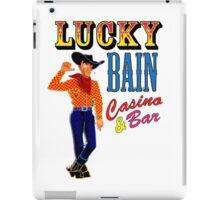 Lucky Bain Casino & Bar iPad Case/Skin