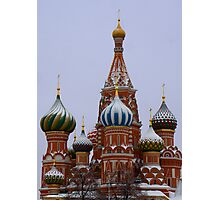 Saint Basil Cathedral Photographic Print