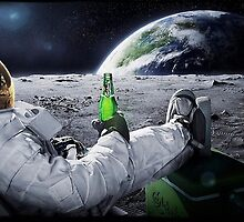 Beer on the Moon by Hazwallace