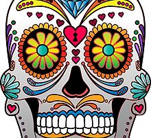 Sugar Skull w/no background 1 by kennasato