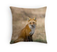 Vixen Portrait Throw Pillow