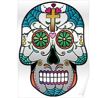 Sugar Skull w/no background 2 Poster