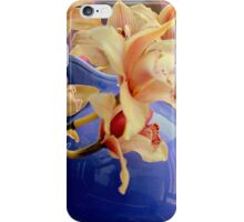 Blue Ball Pitcher Pitched iPhone Case/Skin