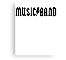 Music Band Canvas Print