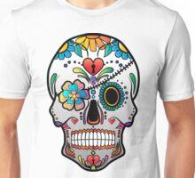 Sugar Skull w/no background 3 Unisex T-Shirt