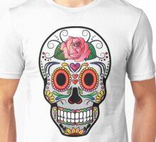Sugar Skull w/no background 4 Unisex T-Shirt