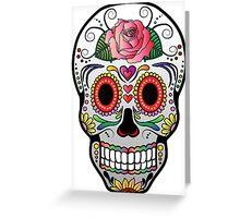 Sugar Skull w/no background 4 Greeting Card