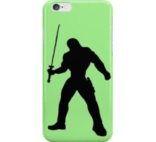 Warrior and Sword iPhone Case/Skin