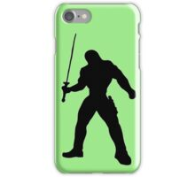 Warrior and Sword iPhone Case/Skin