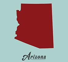 Arizona - States of the Union by Michael Bowman
