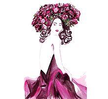 Autumn Lady Photographic Print