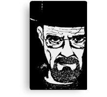 Heisenberg from Breaking Bad Canvas Print
