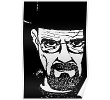 Heisenberg from Breaking Bad Poster