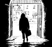 Beyond the gate by Barbara  Corvino