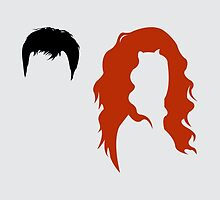 Minimalist Will & Grace by Adam Grey