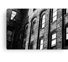 Old Office Building Canvas Print