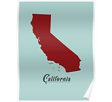 California - States of the Union Poster