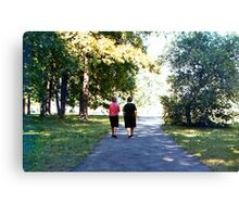 Gone My mother Eloina and my aunt Rosa Canvas Print