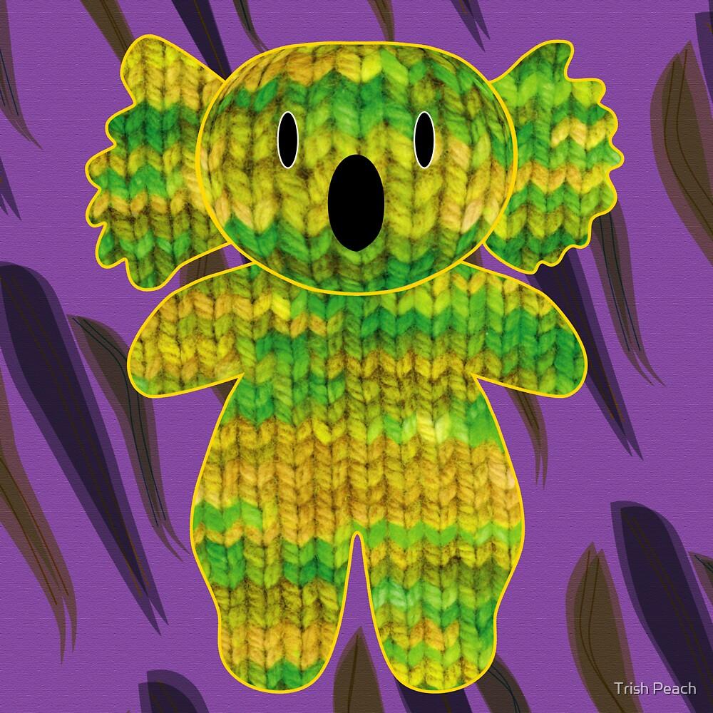 knitty koala by Trish Peach