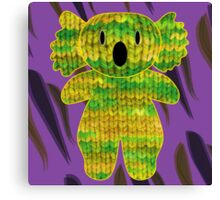 knitty koala Canvas Print