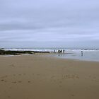 Beach at Bamburgh, Northumberland by nathanw08