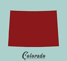 Colorado - States of the Union by Michael Bowman