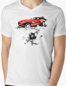 BMW Z4 Mens V-Neck T-Shirt