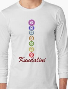 Kundalini Chakaras Long Sleeve T-Shirt