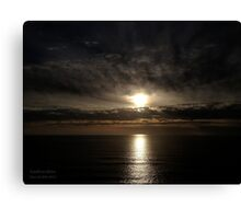 San Francisco Sunset 1501 Canvas Print