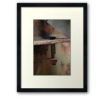 Rusty Framed Print