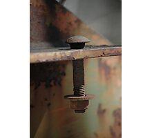 Rusty Photographic Print