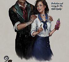 Bioshock Infinite Vigor Poster by Camila Vielmond