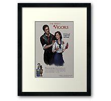 Bioshock Infinite Vigor Poster Framed Print