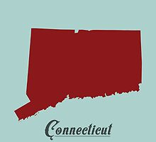Connecticut - States of the Union by Michael Bowman