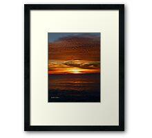 San Francisco Sunset 1503 Framed Print