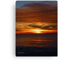 San Francisco Sunset 1503 Canvas Print