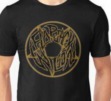 Flapjack Wilson Black Metal Logo Unisex T-Shirt
