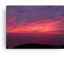 San Francisco Sunset 1506 Canvas Print