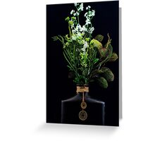Vase and Flowers Greeting Card