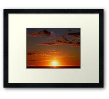 San Francisco Sunset 1511 Framed Print