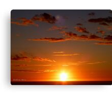 San Francisco Sunset 1511 Canvas Print