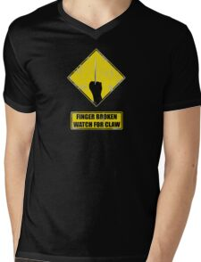 Watch for claw V.2 Mens V-Neck T-Shirt