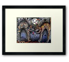 CATFIGHT Framed Print