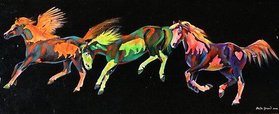 Spirit Ponies by louisegreen