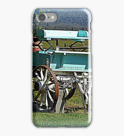 Waiting for horses iPhone Case/Skin