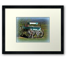 Waiting for horses Framed Print