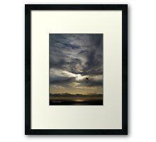 San Francisco Sunset 1514 Framed Print